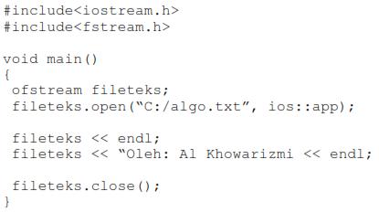 sintaks menambahkan file